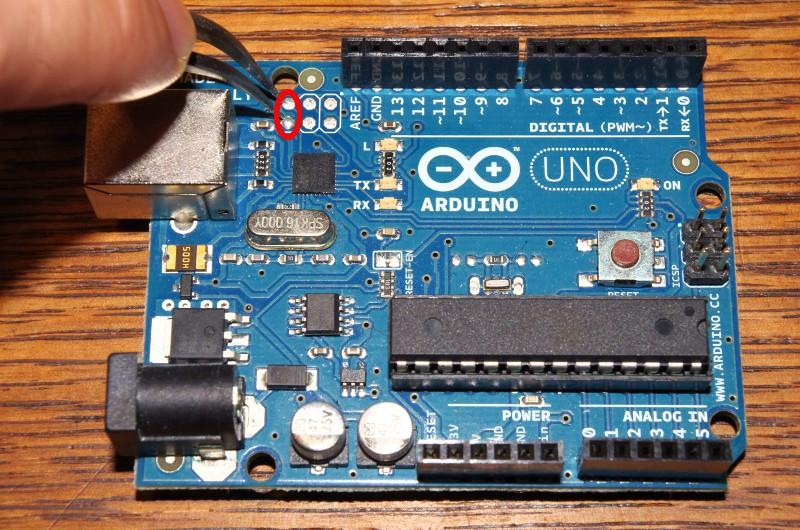 Arduino de face